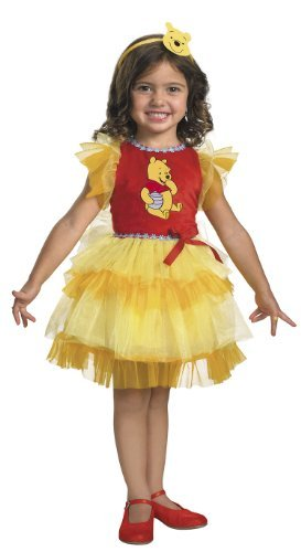 Frilly Winnie The Pooh Costume (12-18 months) -