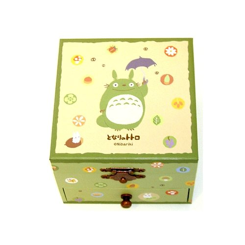 Caja de música Studio Ghibli My Neighbor Totoro con cajón