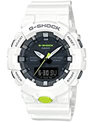 Casio GA800SC-7A G Shock Super Illuminator Mens Watch White 54.1mm Resin