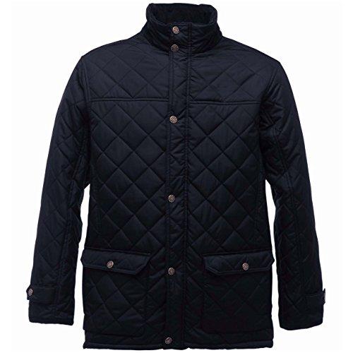 3XL Regatta Mens Black Jacket Size Tyler Quilted Ynwqf7