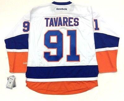 on sale 3d205 5d94e John Tavares Jersey - Reebok Nhl Premier Away Tags - 5 at ...