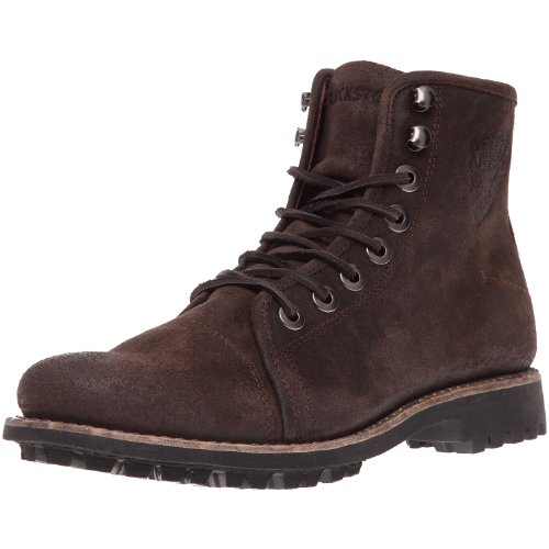 Blackstone Hommes Am12 Lace Up Boot Marron Foncé