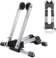 """ROCKBROS Foldable Bike Stand Floor Alloy Bicycle Stand Folding Indoor Parking Wheel Holder Fit 20""""-29"""""""