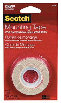 3M 2145 Scotch Interior Window Film Mounting Tape, 1/2 x 500-In.