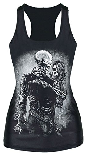 YeeATZ Angel of Death Printed Casual Women Tank Top