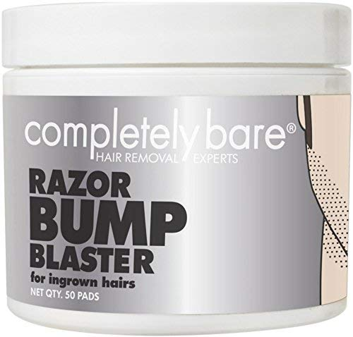 r bump BLASTER Ingrown Hair & Razor Bump Eliminator for Men - Helps Exfoliate & Smoothen Irritated Skin Caused by Shaving, Waxing & Depilatory Creams, 50 ea ()