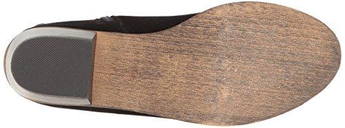 Ankle Women Black Toe DC62 Suede Fringe Cap Breckelles Bootie 5ZqYFUx