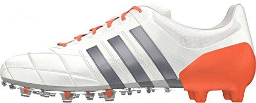 Botas AG 15 FG Ace W Leather Unisex Blanco Naranja Gris 1 Adidas wAH07Uq7
