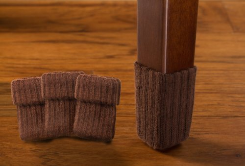 medium-chocolate-brown-furniture-floor-protection-8-pack-ribbed-chair-sock-protectors-by-nancyprotec