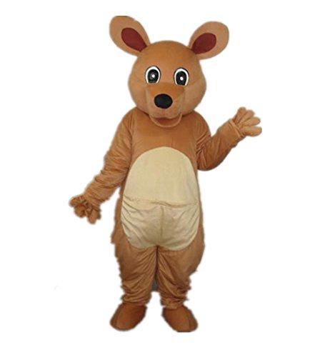 Kangaroo Mascot Costumes (MascotShows Big Eye Kangaroo Adult Mascot Costume Adult Size)