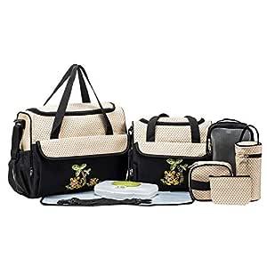 SoHo Animals Diaper Tote Bag 10Pc Value, Tigers