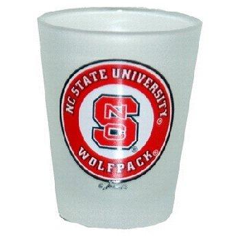 NCAA North Carolina State Wolfpack Frosted Shotglass