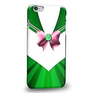 "Case88 Premium Designs Green Sailor suit Sailor Jupiter Heart Crystal Protective Snap-on Hard Back Case Cover for Apple iPhone 6 Plus 5.5"""