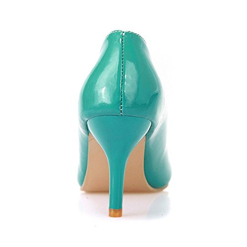 Green Pumps Stiletto Solid Zuban Women Chila S1qvXawpa