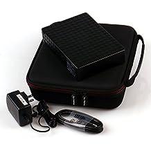 LTGEM EVA Hard Case Carrying Storage Bag Cover for Seagate Backup Plus 2TB 3TB 4TB 5TB 6TB 8TB Desktop External Hard Drive