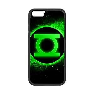 iPhone 6 Plus 5.5 Inch Cell Phone Case Black Green Lantern oycc