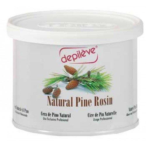 Natural Pine Rosin Wax - Depileve Rosin Wax, Natural Pine, 28 Ounce