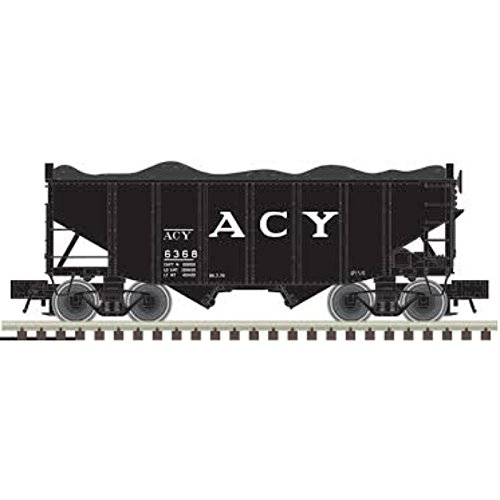 Atlas 50003687 – 55 Ton Fishbelly Hopper – AC&Y 6347 – N Scale ()
