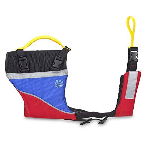 - MTI Adventurewear Underdog Canine Life Jacket, Blue Ripstop/Red, Medium
