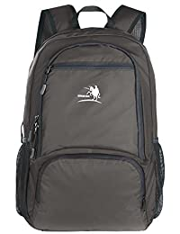 Free Knight 25L Packable Handy Lightweight Travel Backpack Daypack (New Grey)