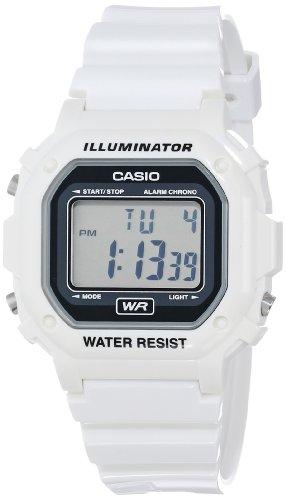 white plastic watch
