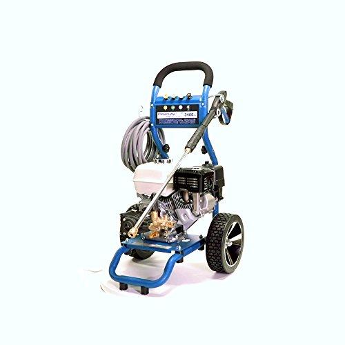 PressurePro PP3425H Dirt Laser Pressure Washer, Blue/Black/Silver