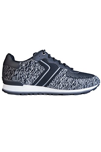 Parkour Mens Fashion Boss Lace 50379292 Sneakers Knit Runn Hugo Black up CWBZWq