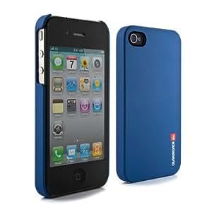 Quiksilver QSCI001 - Carcasa para iPhone 4/4S, color azul