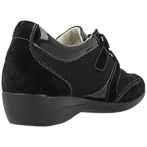 Ii Donna Stonefly Sneaker venus 106096 black nero dtfAqfrw