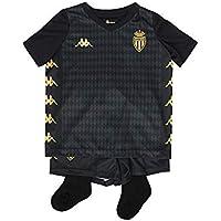 Kappa Minikit Oficial Away As Mónaco Camiseta De Juego, Niños