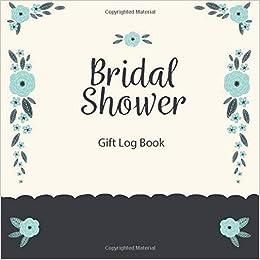 bridal shower gift log book gift record keeper gift tracker notebook gift registry recorder organizer keepsake for bridal shower wedding party