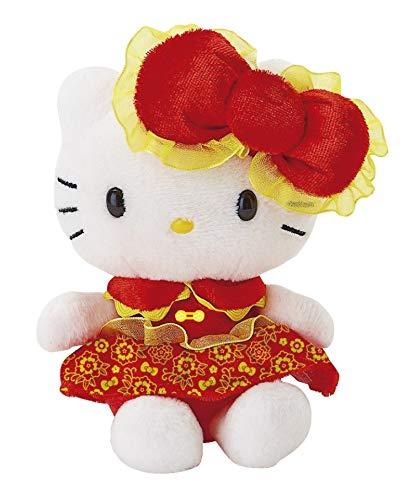 Hello Kitty Bean Bag Doll Chinese New Year (Random Color)