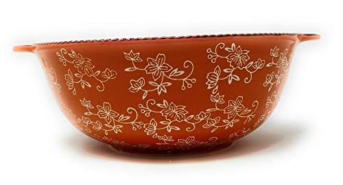 Floral Lace Spice 4 Quart Bowl with Cover Mixing/Serving 4 Qt K41205 Tkoutlet from Unknown