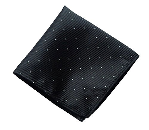 Driew Pack of 7 Men Pocket Square Satin Handkerchief Hanky with Polka Dot Pattern by Driew (Image #2)