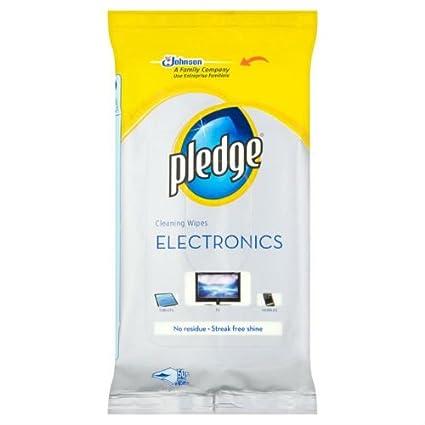 Pledge Electronics toallitas 25 por paquete caso de 5