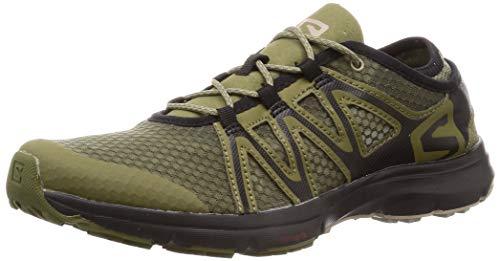 Salomon Men's Crossamphibian Swift 2 Walking Shoe, Burnt Olive, 13 M US