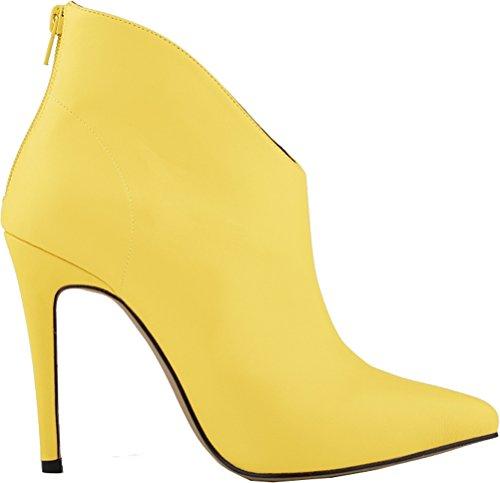 Salabobo - Zapatos con correa de tobillo mujer amarillo