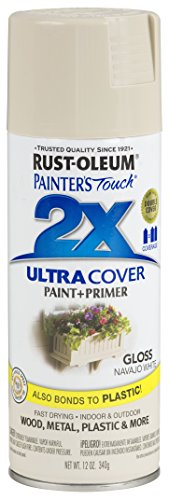 Rust-Oleum 249099-6 PK Painter's Touch 2X Ultra Cover, 12 oz, Navajo White