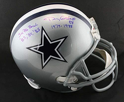 Doug Cosbie Autographed Signed Dallas Cowboys F/S Helmet 3 X Pro Bowl PSA/DNA Authentic Signature