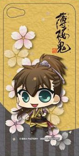 薄桜鬼 スマートフォンデコレーションシール 藤堂 平助 (iPhone4・4S対応)