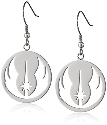 Star Wars Jewelry Jedi Order Stainless Steel Dangle Earrings