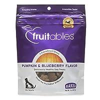 Fruitables Baked Dog Treats Sabor de calabaza y arándanos 7 oz