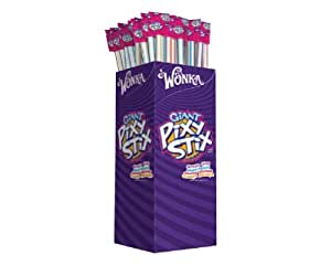 Pixy Stix, Giant, 1-Ounce Straws (Pack of 100)