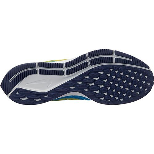 Nike Men's Air Zoom Pegasus 35 Running Shoe Blue Orbit/Bright Citron/Blue Void Size 12 M US