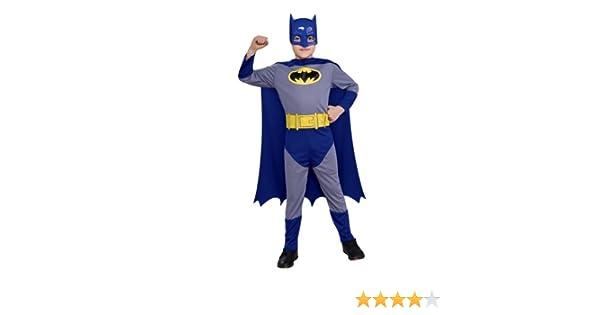 Rubies El intrépido Batman - Disfraz de Batman para niños de 8 a 10 años: Amazon.es: Juguetes y juegos