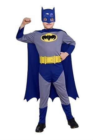 Rubies El intrépido Batman - Disfraz de Batman para niños de 8 a 10 años