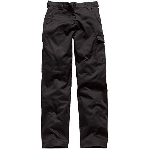 Dickies mens Dickies Redhawk Ladies Womens Cargo Pocket Workwear Pants Pants Navy, Black Black 14 - Waist 29