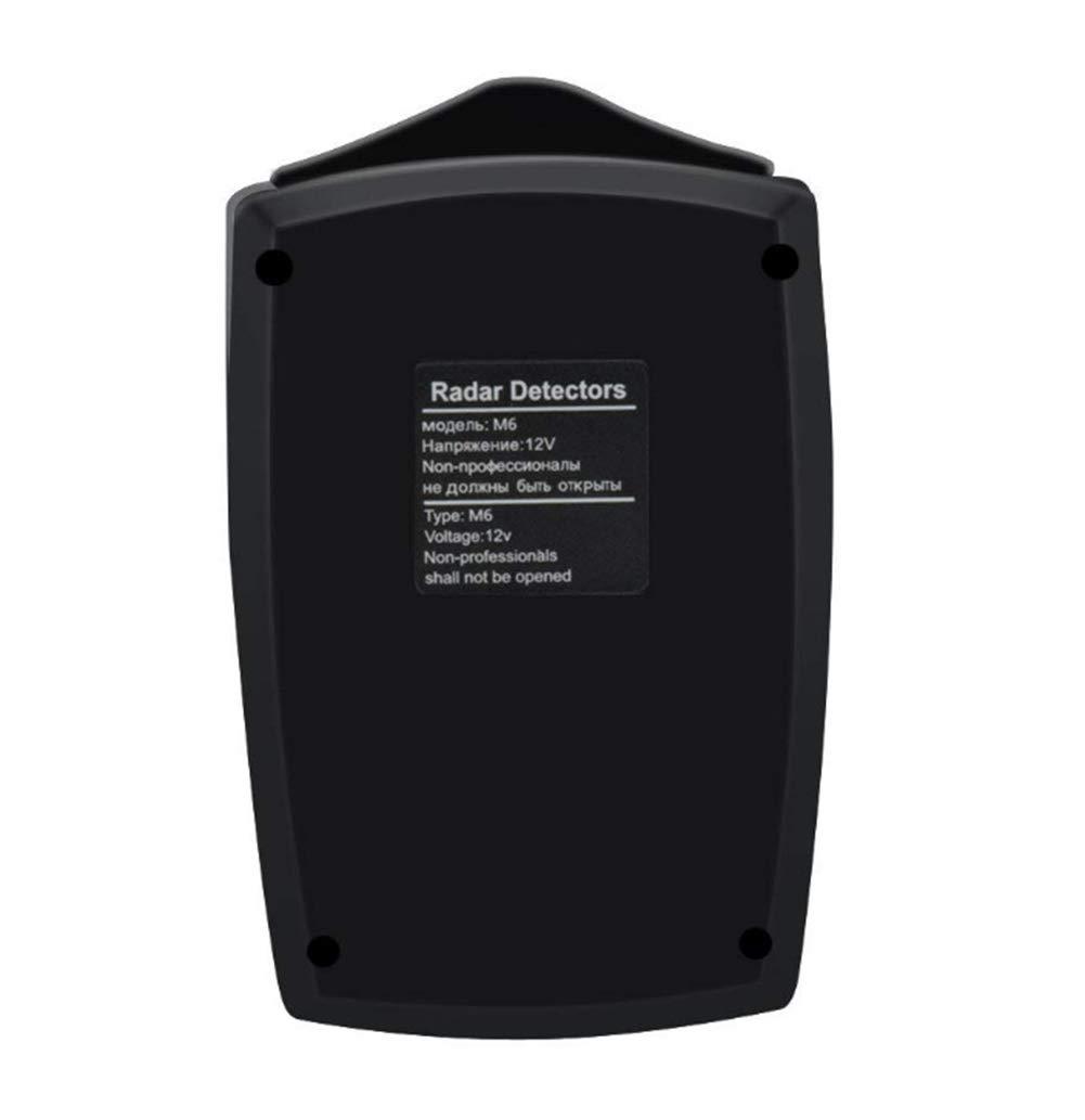 Polkeiser Máquina De Monitoreo De Tacómetro del Detector De Velocidad De Radar De Auto LED, 360 Sistema De Detección De Banda Completa Voz De Alarma para ...