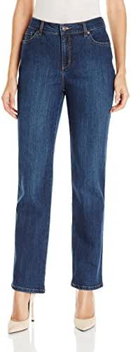 Gloria Vanderbilt Women's Petite Amanda-Classic Straight Leg Jean
