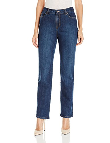 Gloria Vanderbilt Women's Amanda Classic Tapered Jean, Scottsdale Wash, 10 ()
